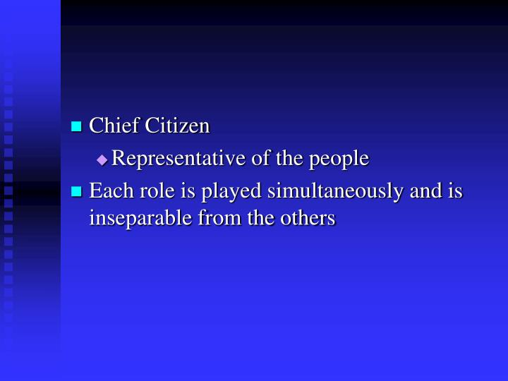 Chief Citizen
