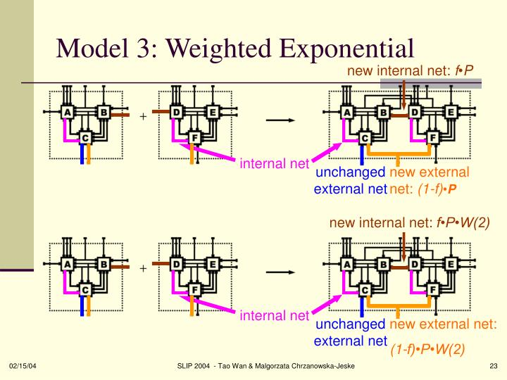 Model 3: Weighted Exponential