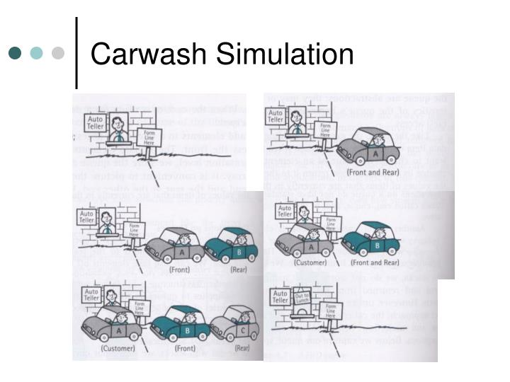Carwash Simulation