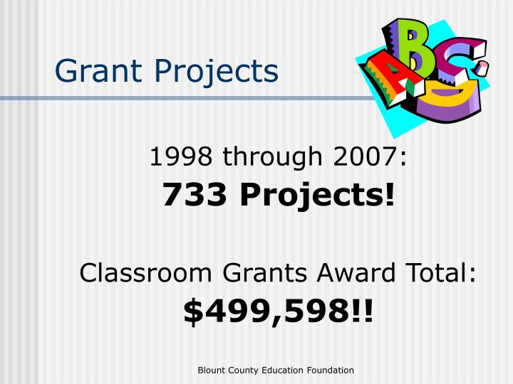 Grant Projects