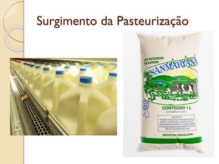 Surgimento da Pasteurização