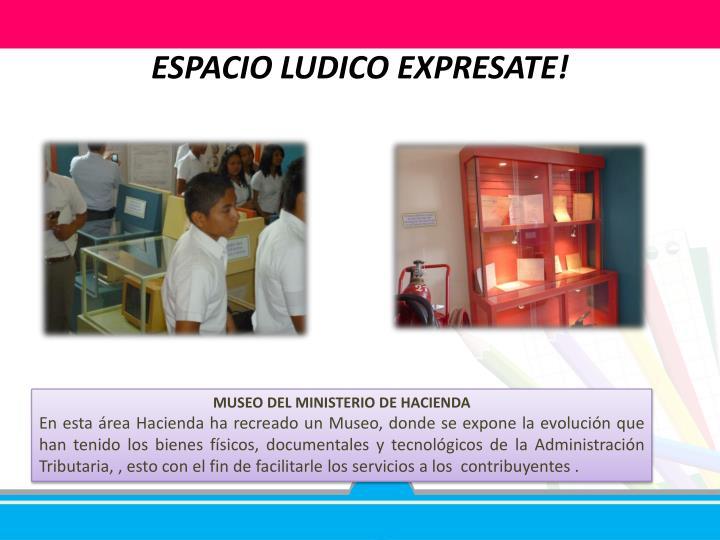 ESPACIO LUDICO EXPRESATE!