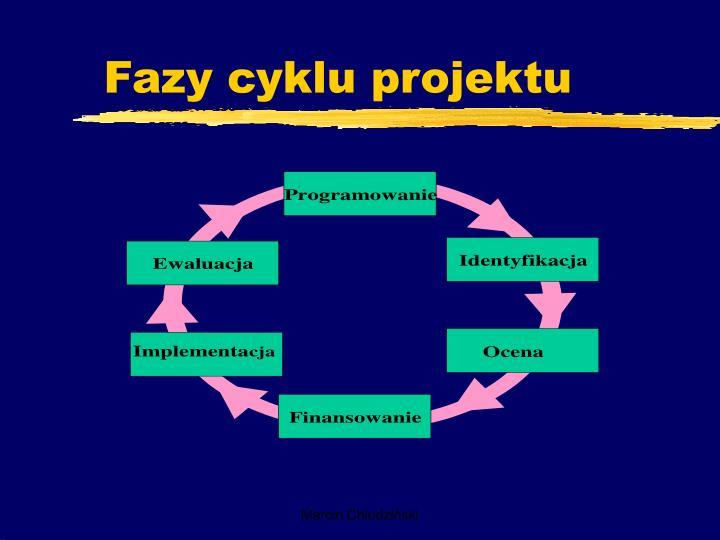 Fazy cyklu projektu