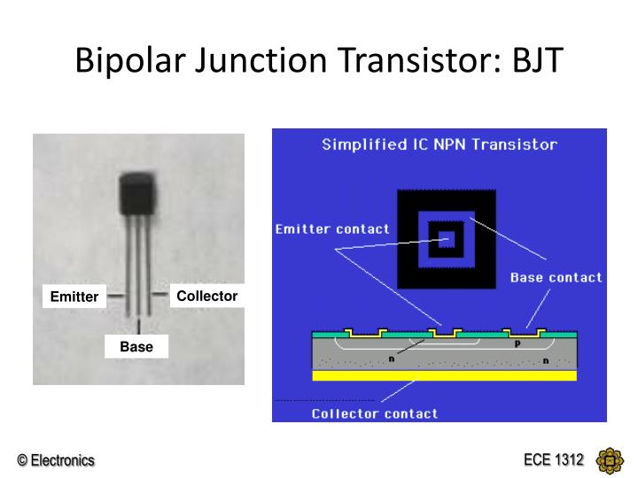 Bipolar Junction Transistor: BJT