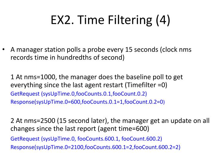 EX2. Time Filtering (4)