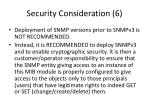 security consideration 6
