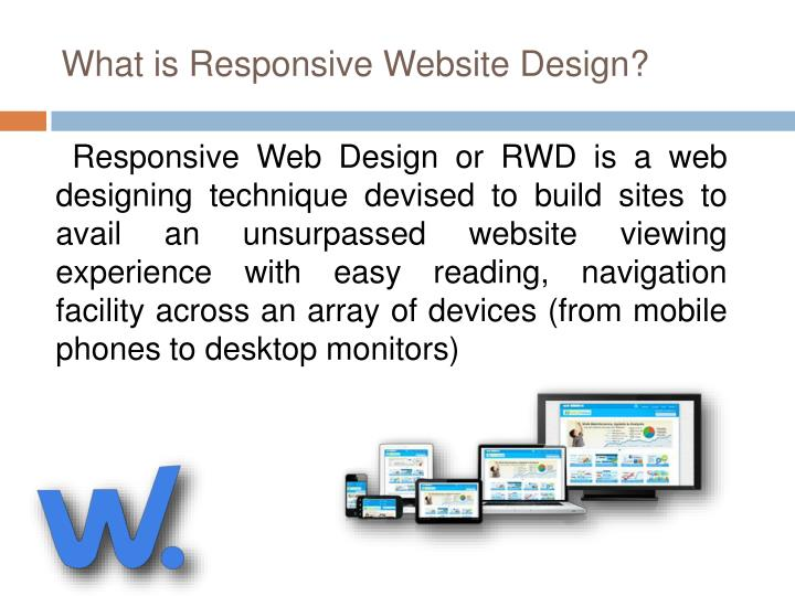 What is responsive website design