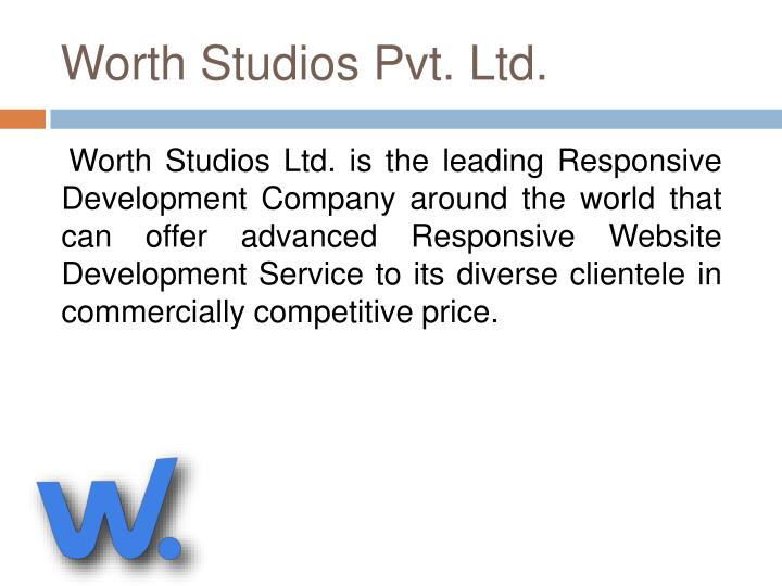 Worth Studios Pvt. Ltd.