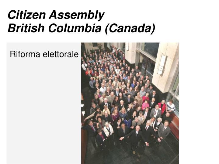 Citizen Assembly