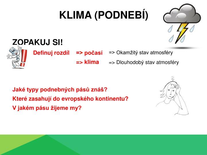 Klima (podnebí)