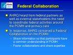 federal collaboration1