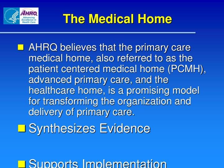 The Medical Home