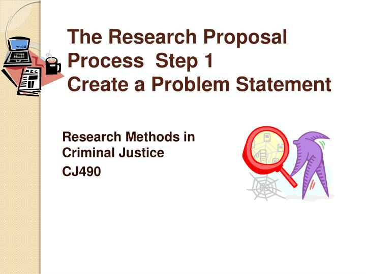 What is statement of the problems in a research proposal