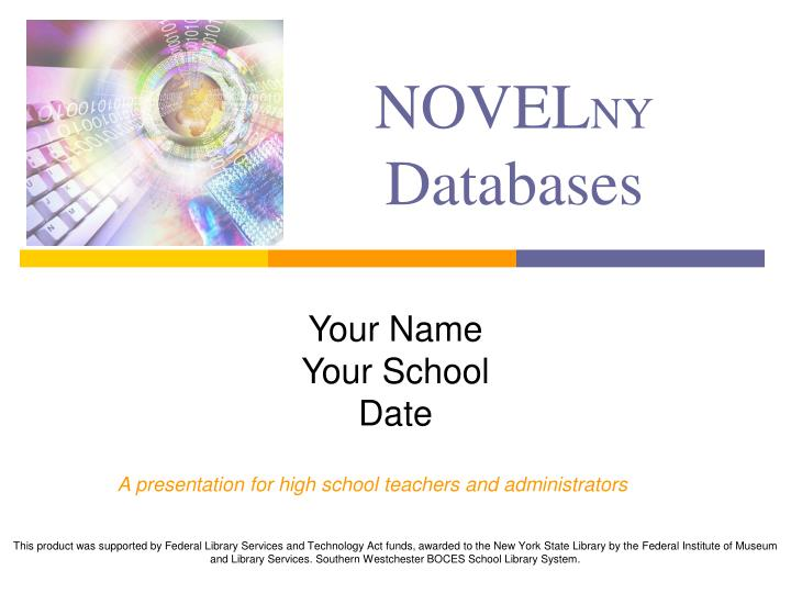 novel ny databases