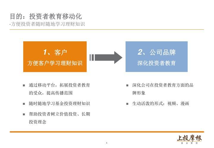 目的:投资者教育移动化