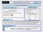 teacher lms training closing