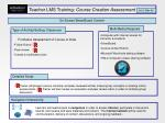 teacher lms training course creation assessment