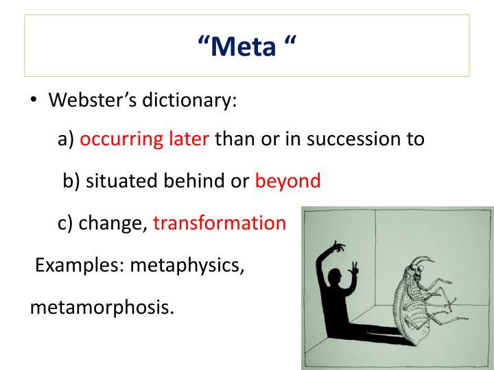 """Meta """