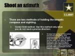 shoot an azimuth10