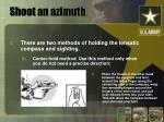 shoot an azimuth8