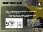 shoot an azimuth9
