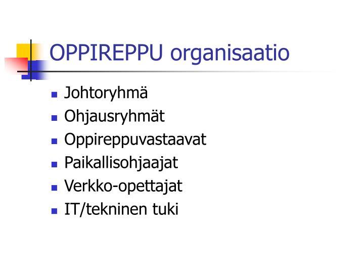 OPPIREPPU organisaatio