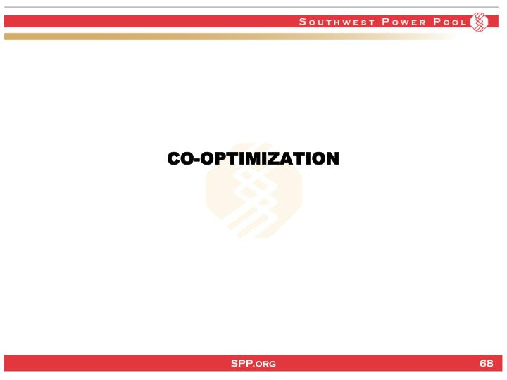 CO-OPTIMIZATION