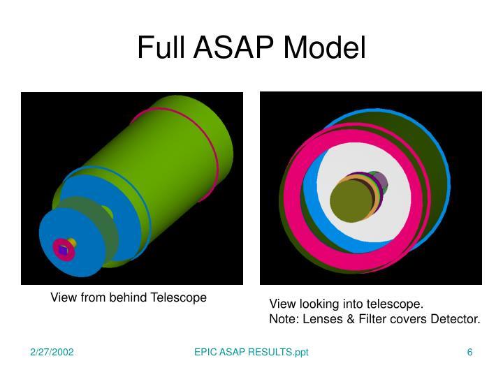 Full ASAP Model