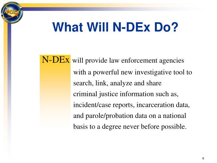 N-DEx
