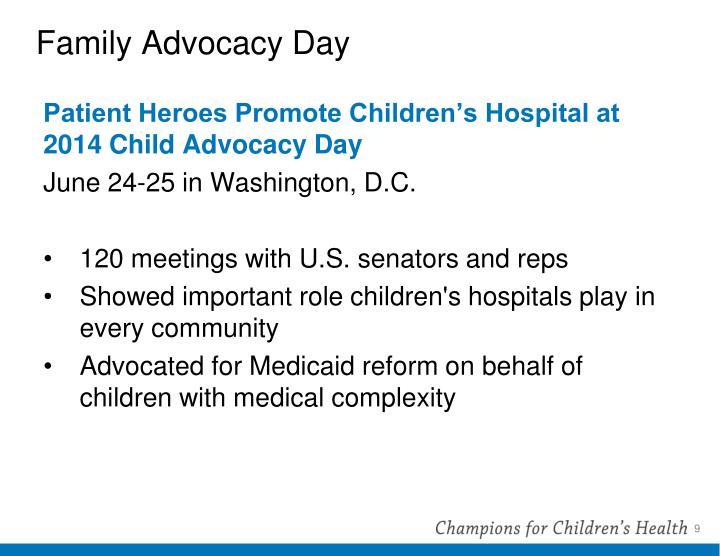 Family Advocacy Day
