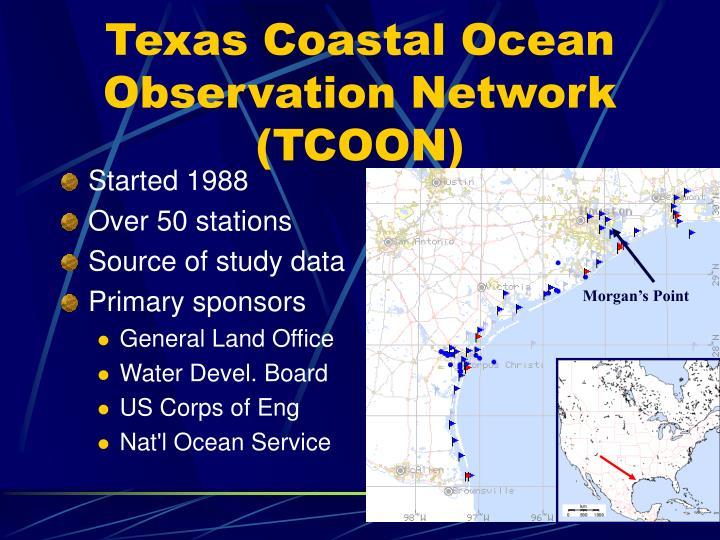 Texas Coastal Ocean Observation Network (TCOON)