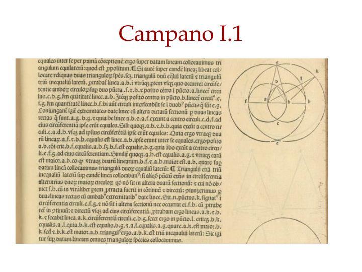Campano I.1
