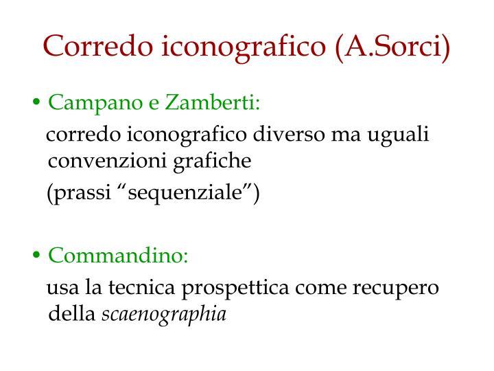 Corredo iconografico (A.Sorci)
