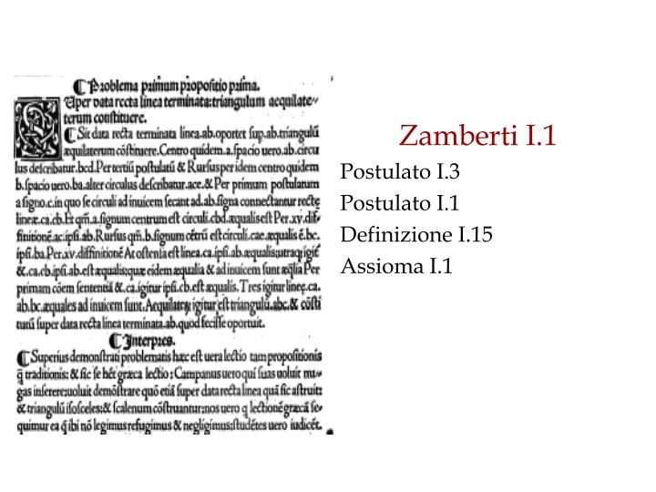 Zamberti I.1