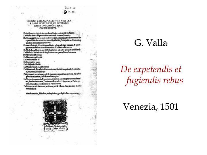 G. Valla