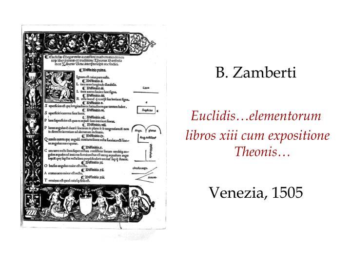 B. Zamberti