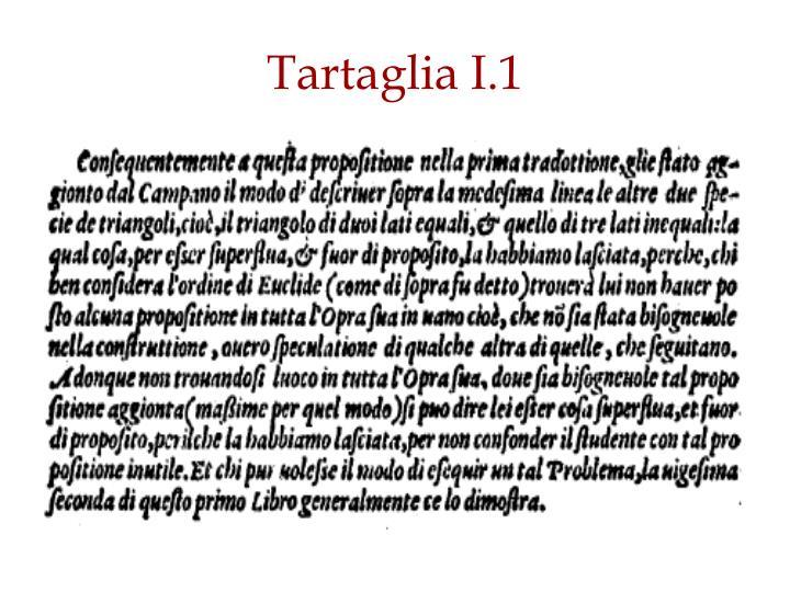 Tartaglia I.1