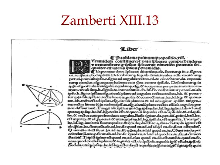 Zamberti XIII.13