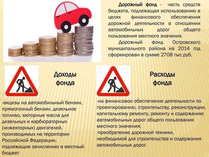 Дорожный фонд