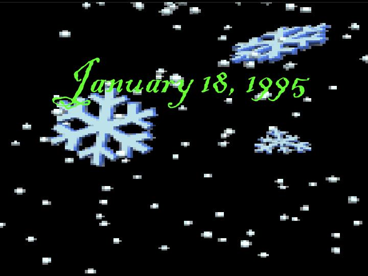 January 18, 1995