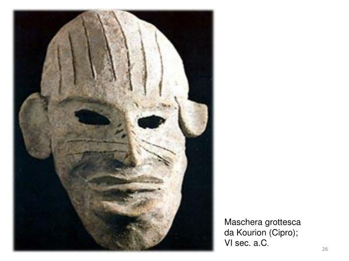 Maschera grottesca