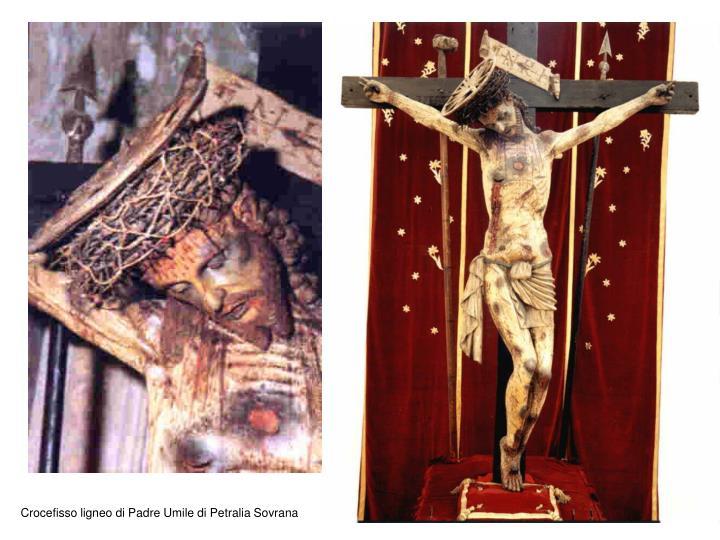 Crocefisso ligneo di Padre Umile di Petralia Sovrana