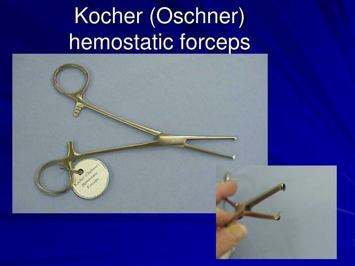 Kocher (Oschner)
