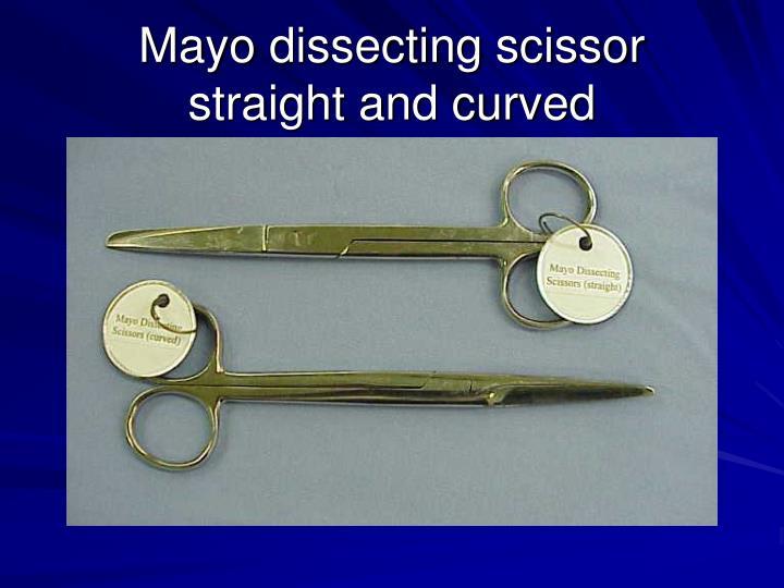 Mayo dissecting scissor