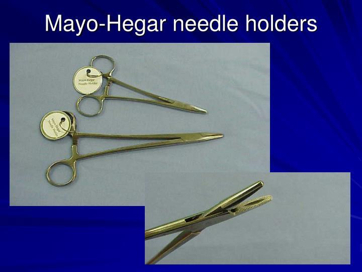 Mayo-Hegar needle holders