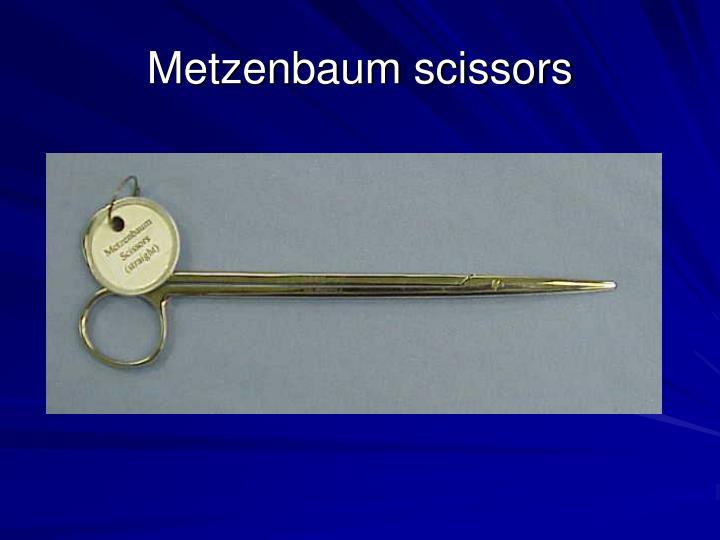 Metzenbaum scissors