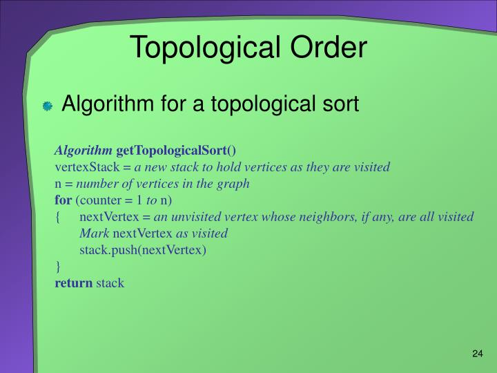 Topological Order