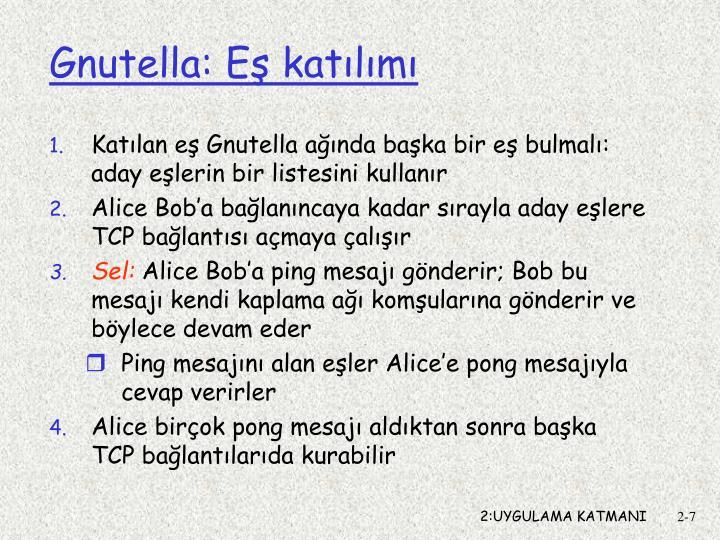 Gnutella: