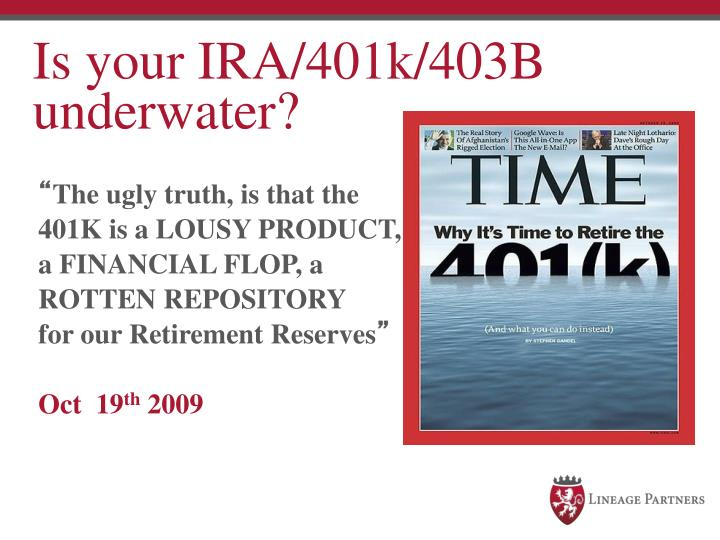 Is your IRA/401k/403B