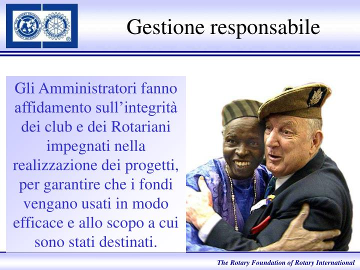 Gestione responsabile